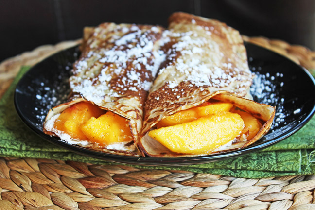 Cinnamon Crepes from Jamie Cooks It Up!