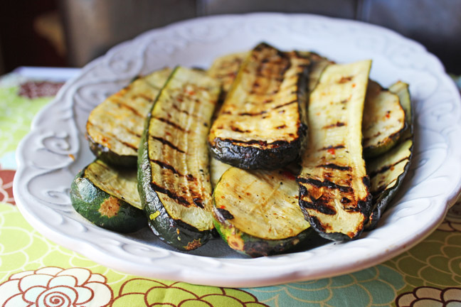 Simple, Fabulous, Grilled Zucchini