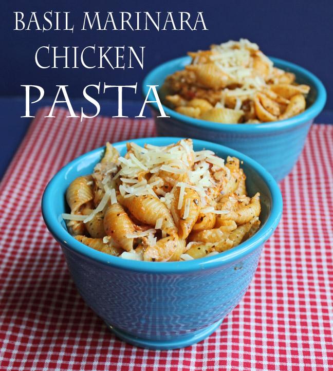 100 Visa Gift Card Giveaway And Basil Marinara Chicken Pasta From