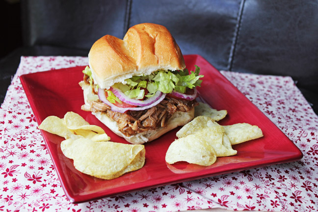 Teriyaki Pulled Pork Sandwiches!