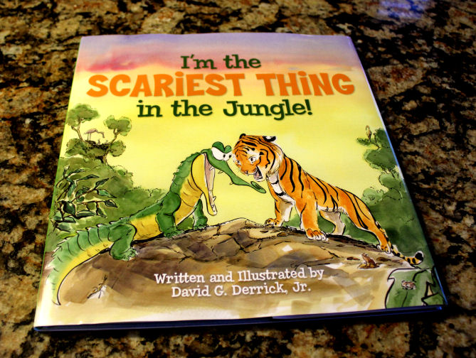 Childrens Book Giveaway!!! I'm The Scariest Thing In The Jungle