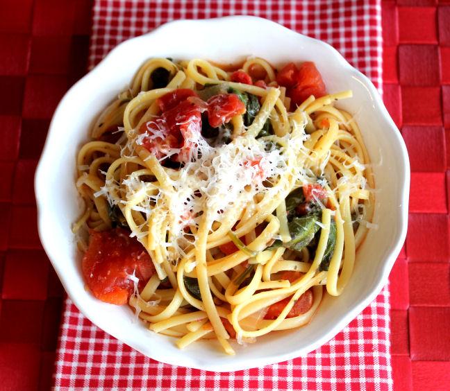 Magic, One Pot Italian Noodles