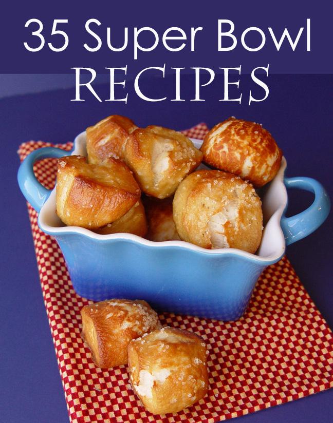 35 Superbowl Recipes