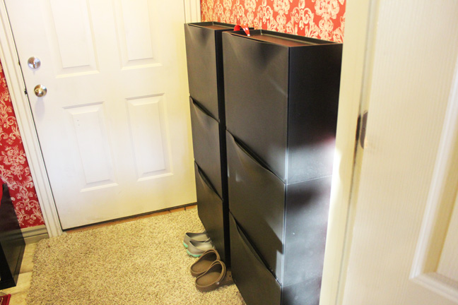 the weekend report my mudroom made over. Black Bedroom Furniture Sets. Home Design Ideas