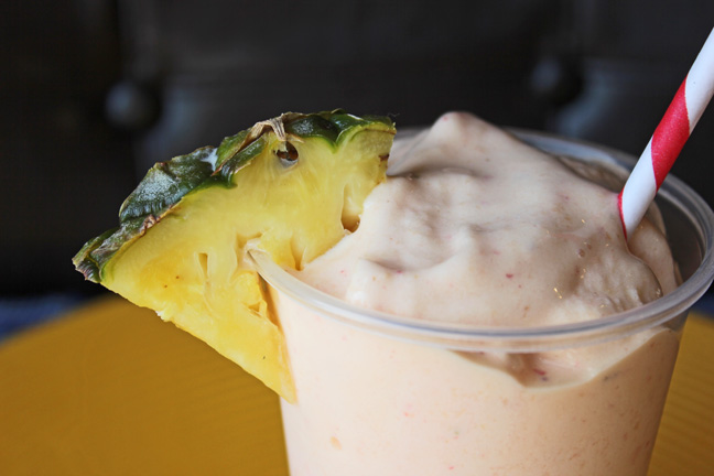 Tropical Fruit Smoothie from Jamie Cooks It Up
