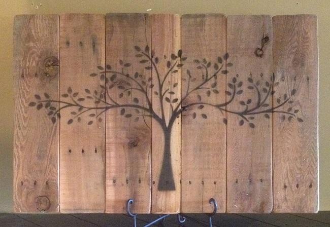 Wallboard 3x2 Black Tree Jamie