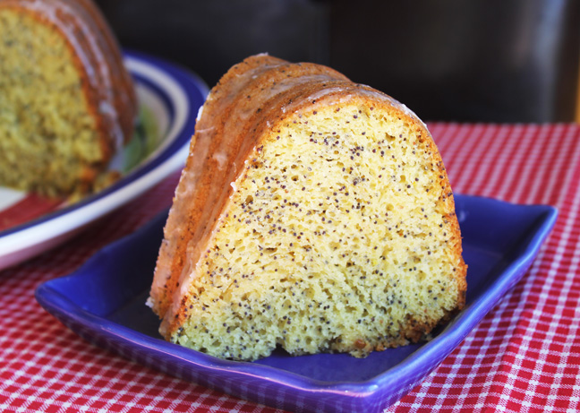 Almond Poppy Seed Bundt Cake Jamie Cooks It Up Family Favorite