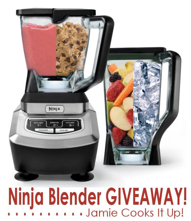 Ninja Blender Giveaway, baby!