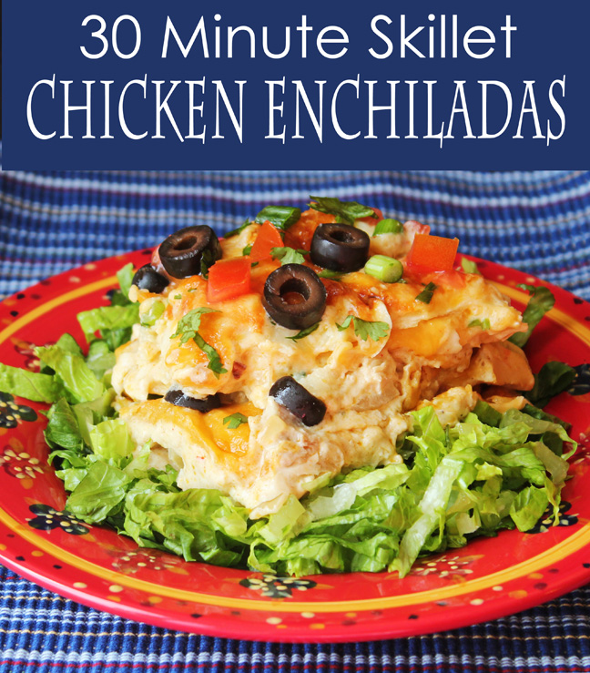 30 Minute Skillet Chicken Enchiladas_edited-2