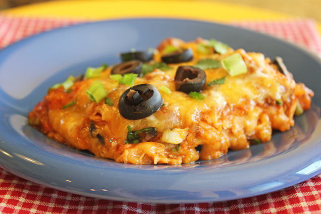 30 Minute Ground Beef Enchilada Skillet Dinner