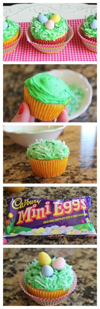 Cadbury Egg Cupcake Nests Jamie Cooks It Up!