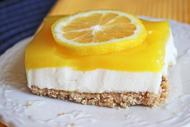 White Chocolate Lemon Lush Dessert from Jamie Cooks It Up