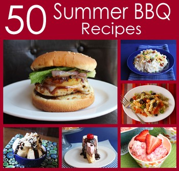 50 Summer BBQ Recipes sidebar at 5