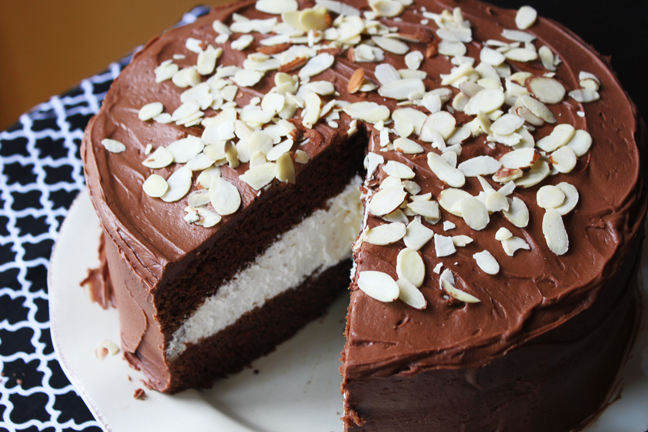 Chocolate Cream Cake from Jamie Cooks It Up!