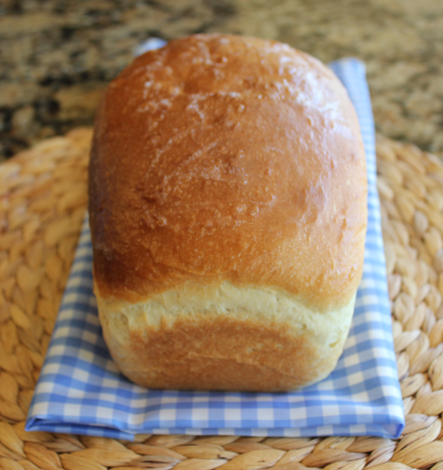 Homemade White Bread from Jamie Cooks It Up!!