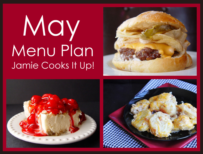 May Menu Plan 2014
