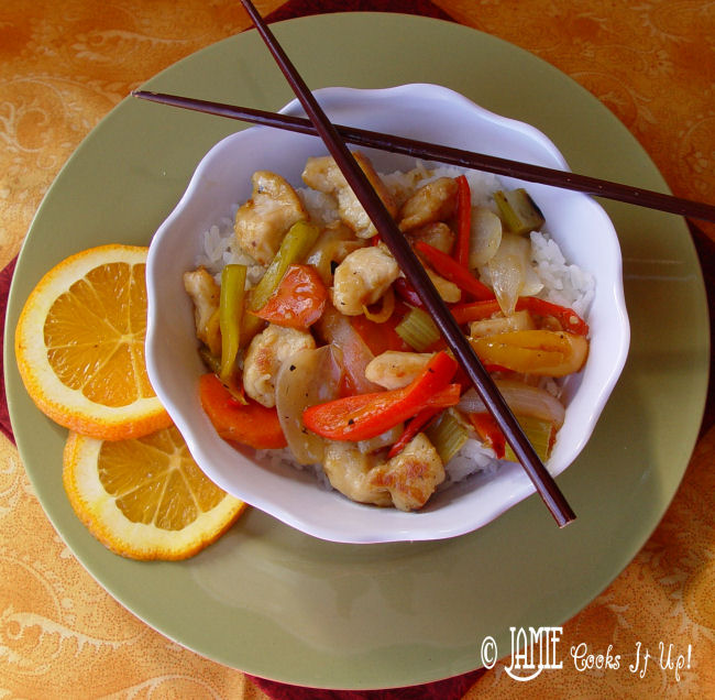 Orange and Vegetable Stir Fry