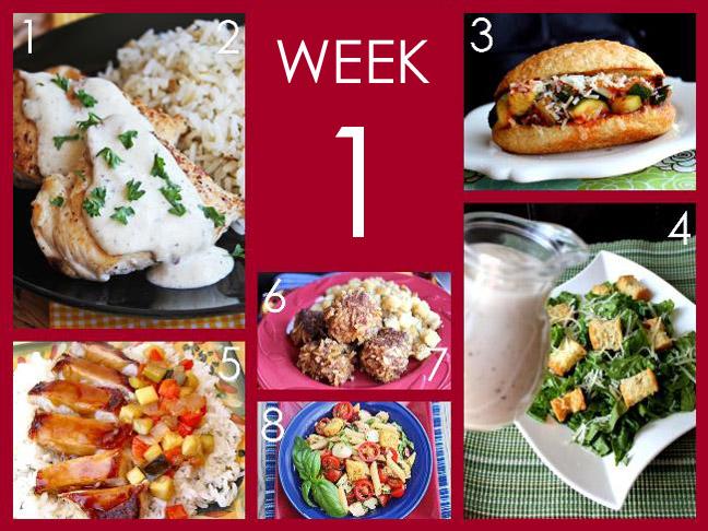 August Week 1 Ready