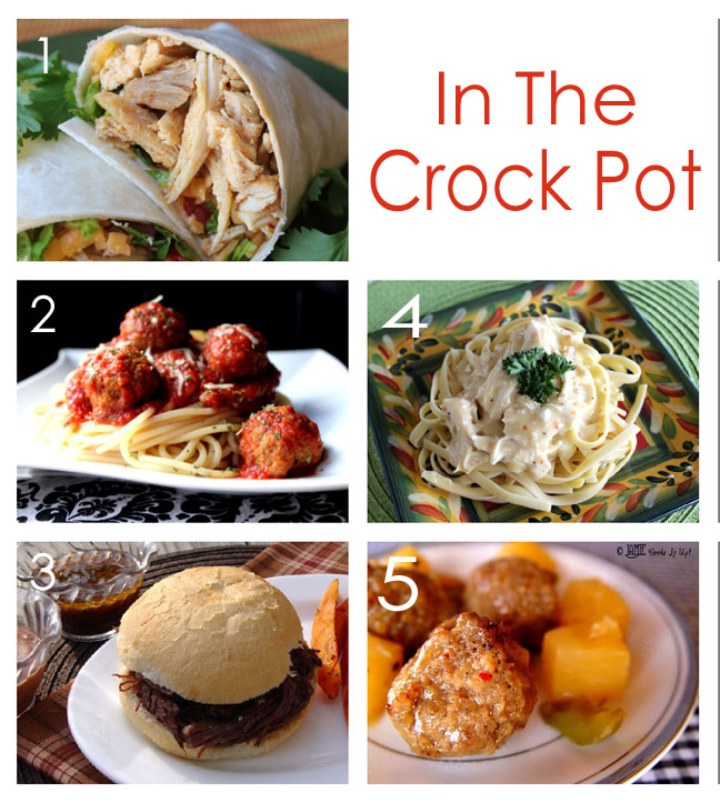 July Menu In the Crock Pot Resized