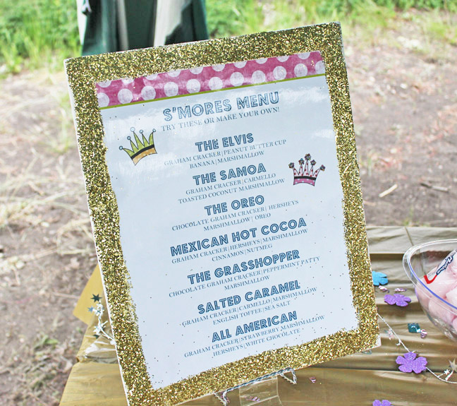 main menu