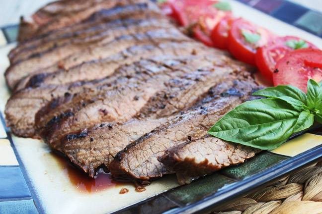 Balsamic Grilled Flank Steak
