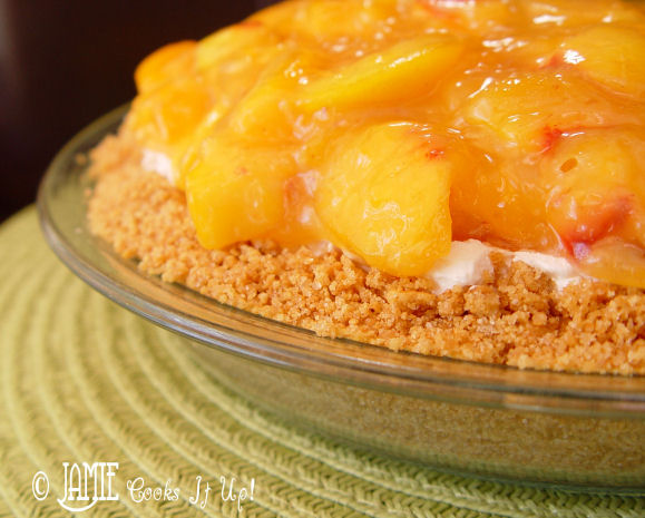 Fresh Peach and Cream Cheese Pie