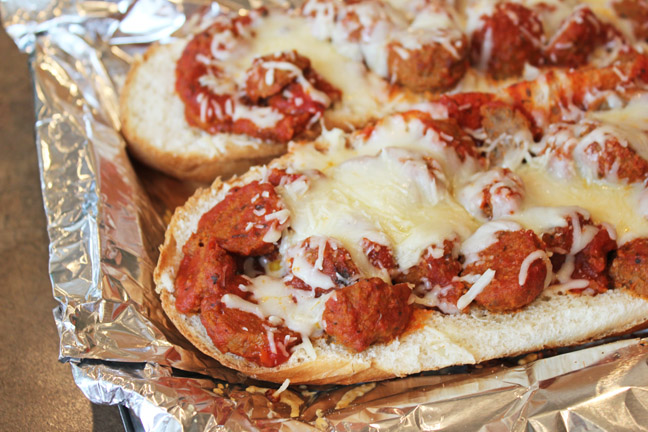 Meatball Sub Sandwich Jamie Cooks It Up!