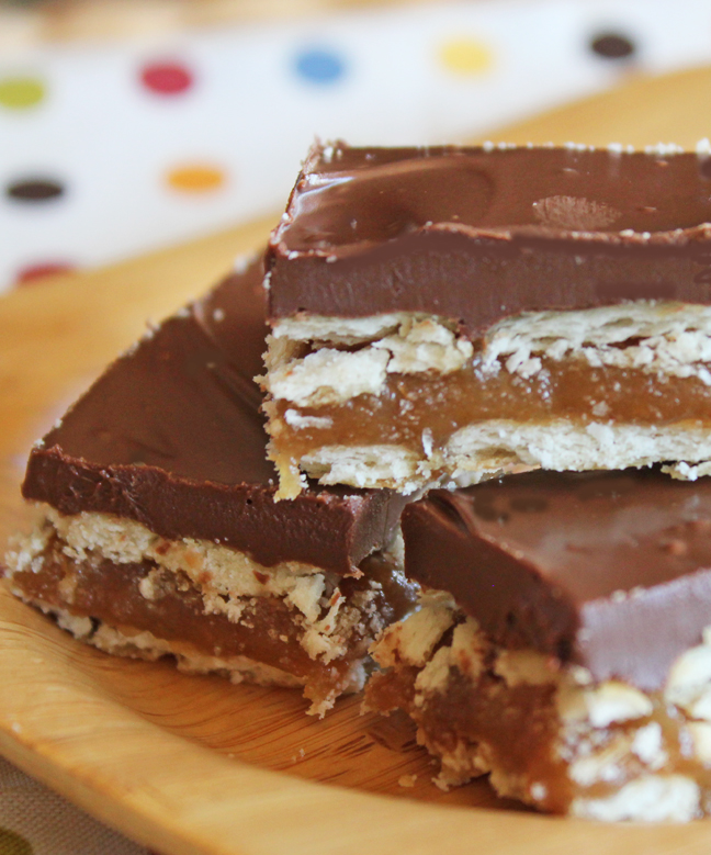 Easy Homemade Twiz Bars from Jamie Cooks It Up!!