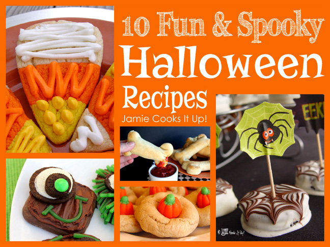 Fun and Spooky Halloween Recipes!
