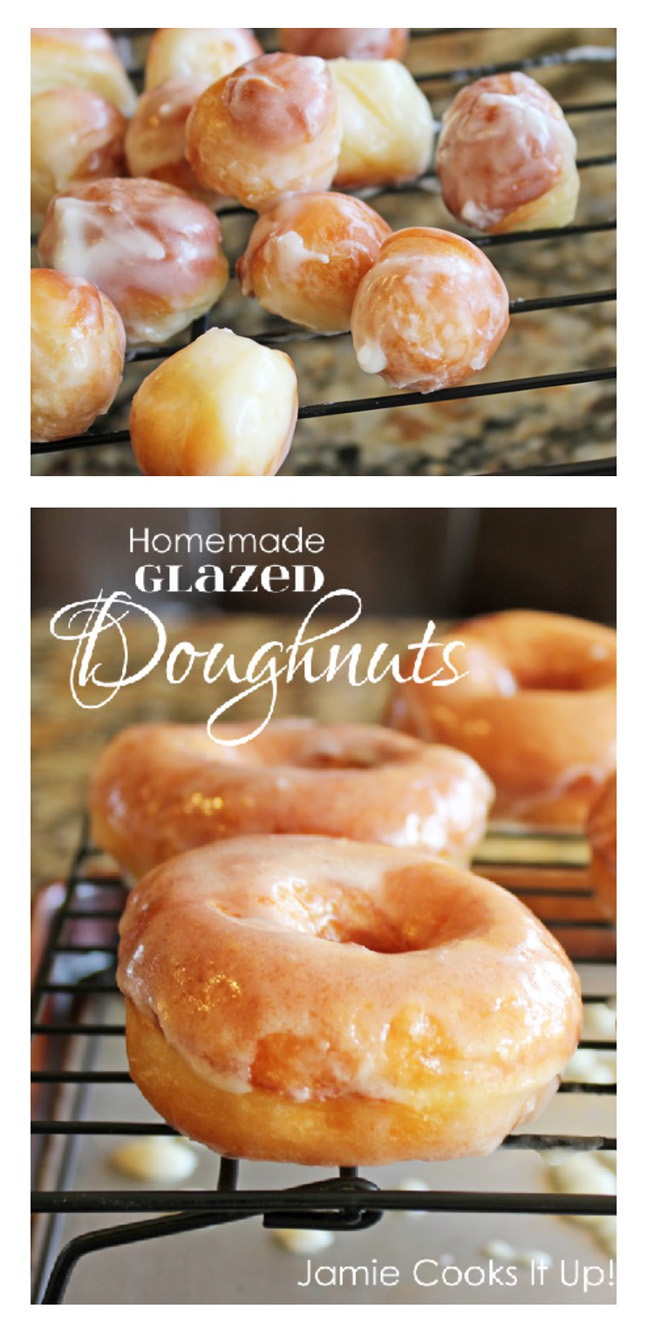 Homemade Doughnuts Jamie Cooks It Up!