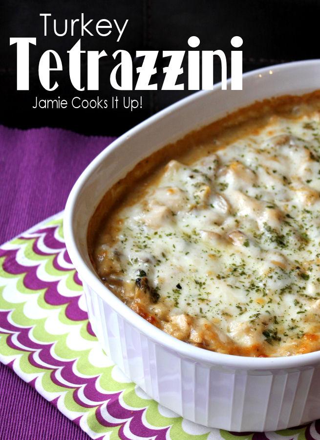 Turkey Tetrazzini, Jamie Cooks It Up!