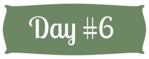 Day #6 Green