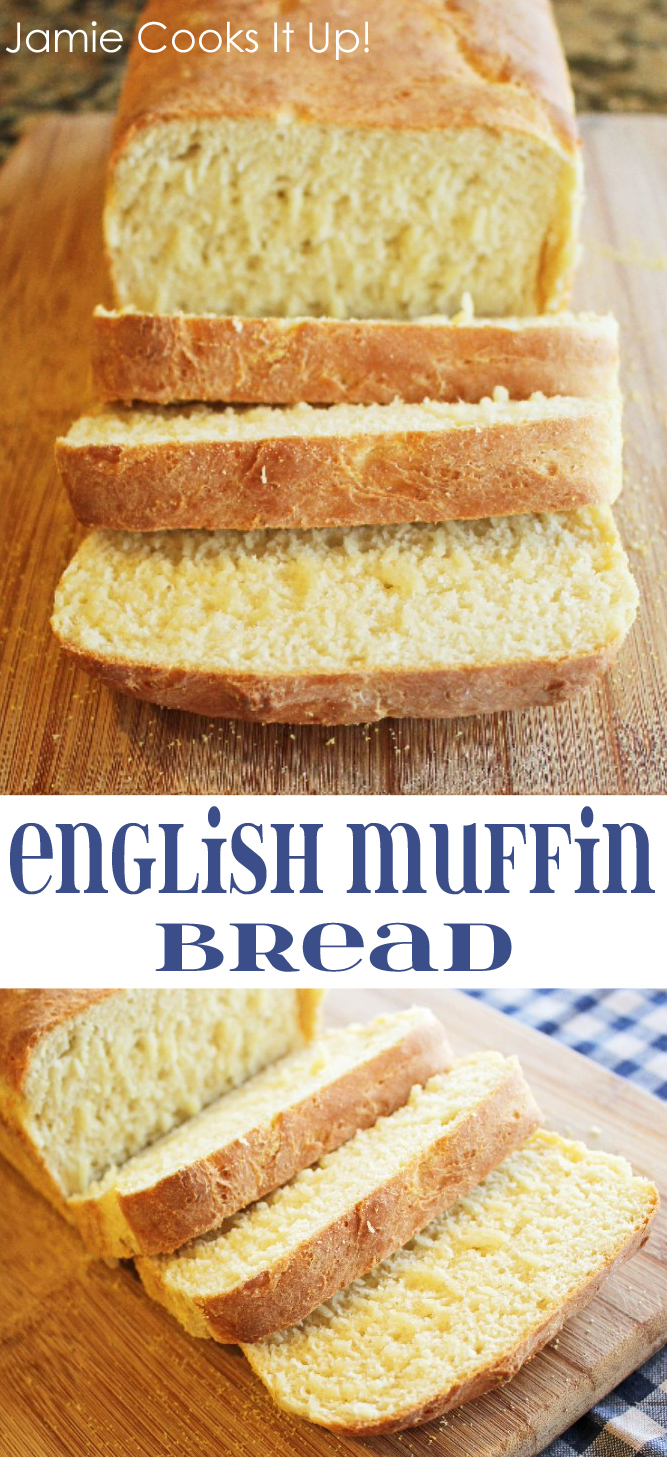 Engjlish Muffin Bread from Jamie Cooks It Up!
