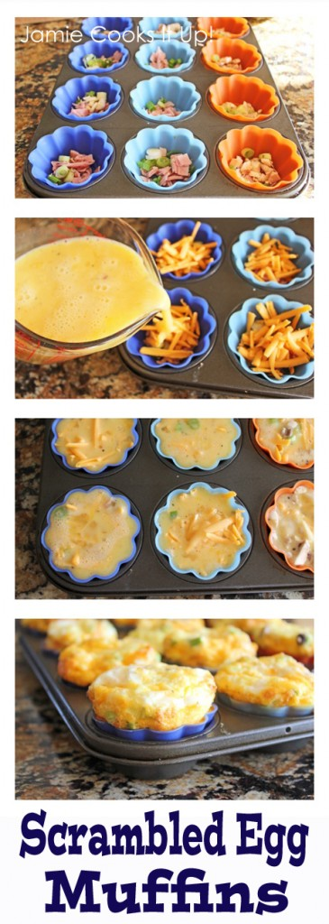 Pinterest Scrambled Egg Muffins