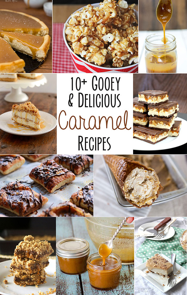 10 Caramel Recipes