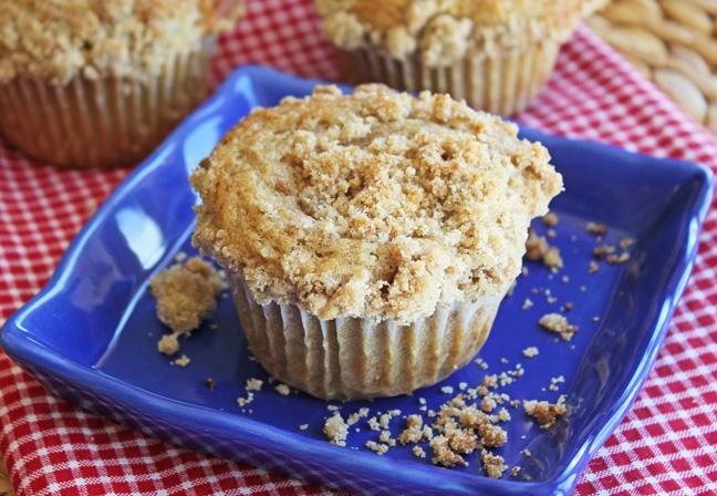 Cinnamon Crumb Muffins Jamie Cooks It Up