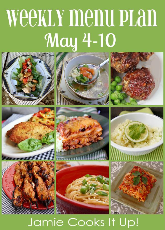 Weekly Menu Plan: May 4-10