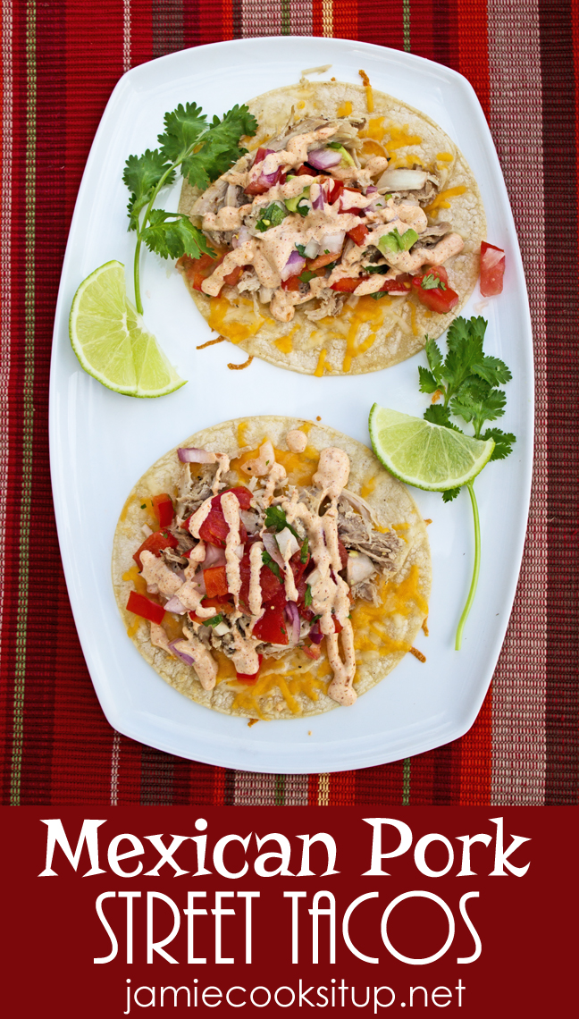 Mexican Pork Street Tacos (Crock Pot)