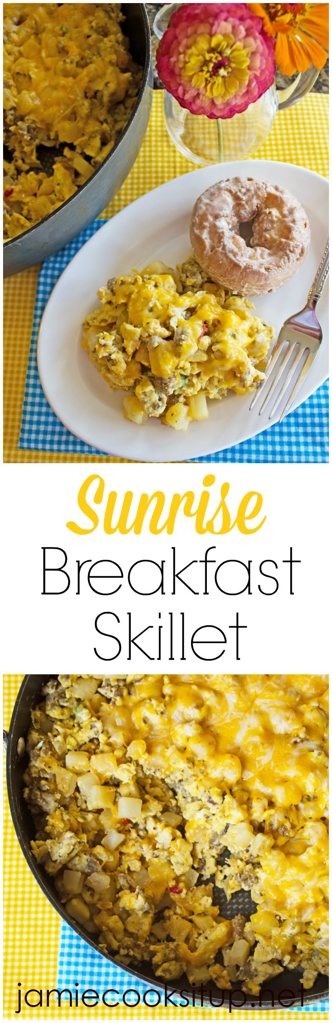 Sunrise Breakfast Skillet from Jamie Cooks It Up