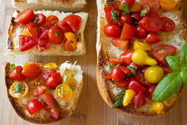 French Bread Bruschetta
