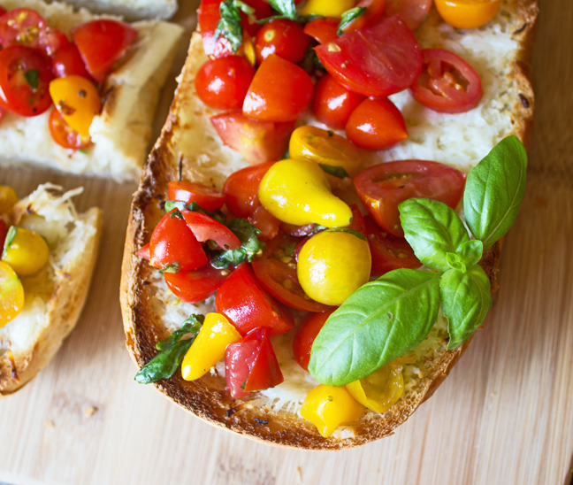 French Bread Bruschetta