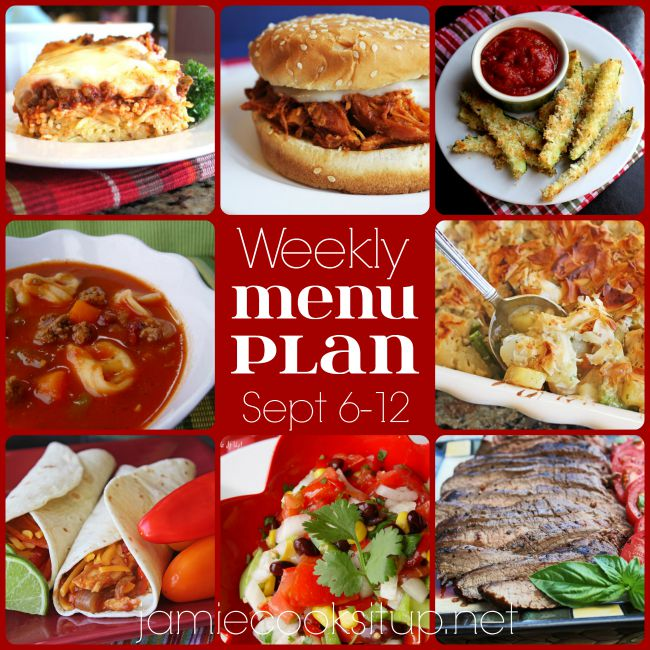 The Weekly Meal Plan: Sept. 6-12