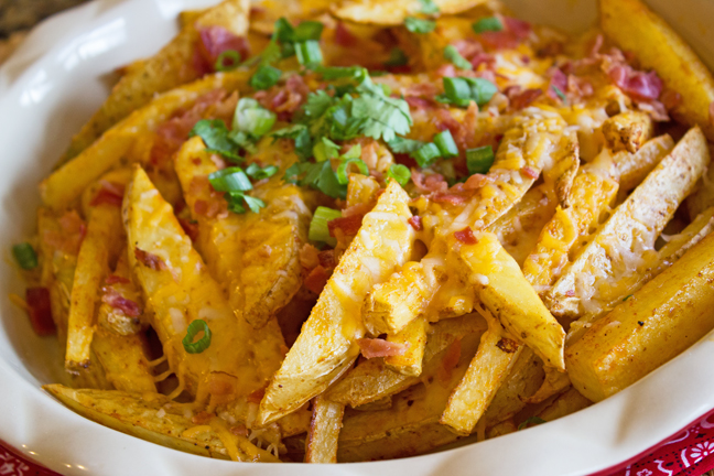 Skinny Texas Cheese Fries