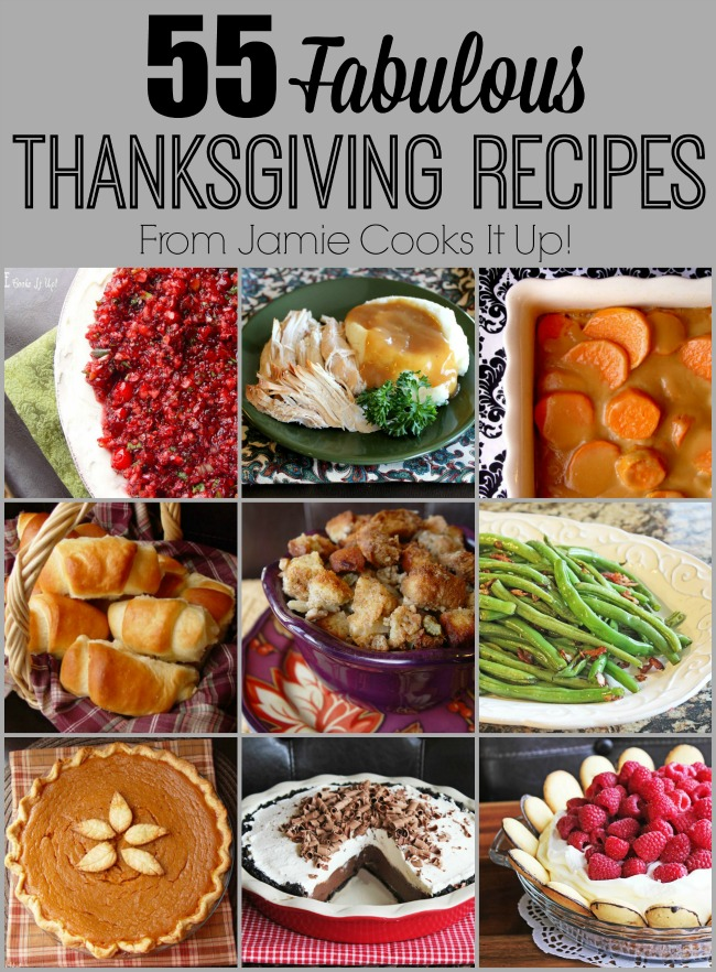 55 Fabulous Thanksgiving Recipes (2015 Edition)