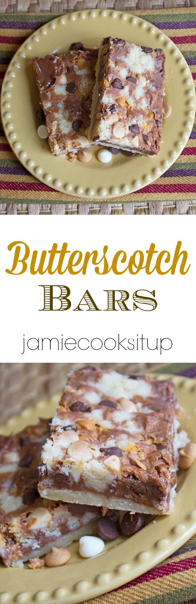 Butterscotch Bars Jamie Cooks It Up!