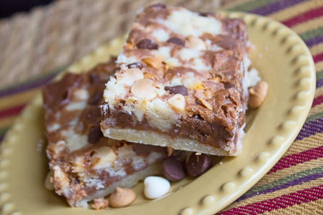 Butterscotch Bars and a Bake Sale report