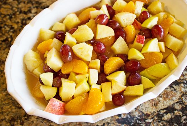 Winter Fruit Salad Jamie Cooks It Up!