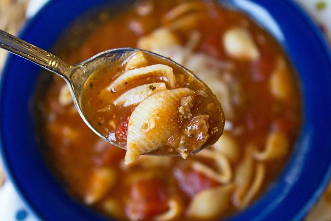 lasagna soup for a crowd