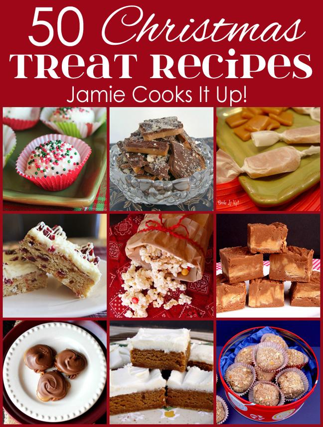 50 Christmas Treat Recipes (2015 Edition)