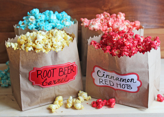 Candy Flavored Sugar Popcorn